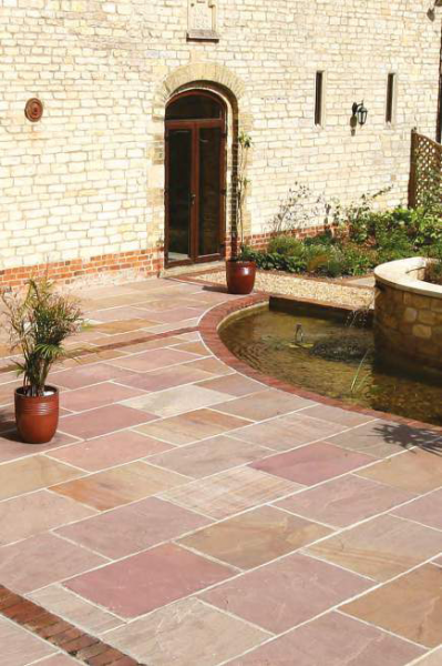 Natural Paving – Heather Sandstone