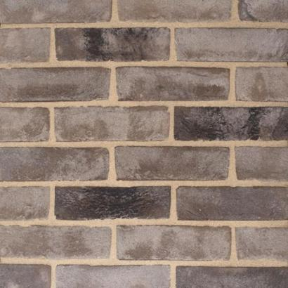 Pagus Grey Black Stock Facing Bricks