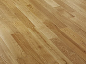 Oak, select / nature, lacquered solid flooring