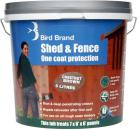 bird shed and fence one coat protection paint