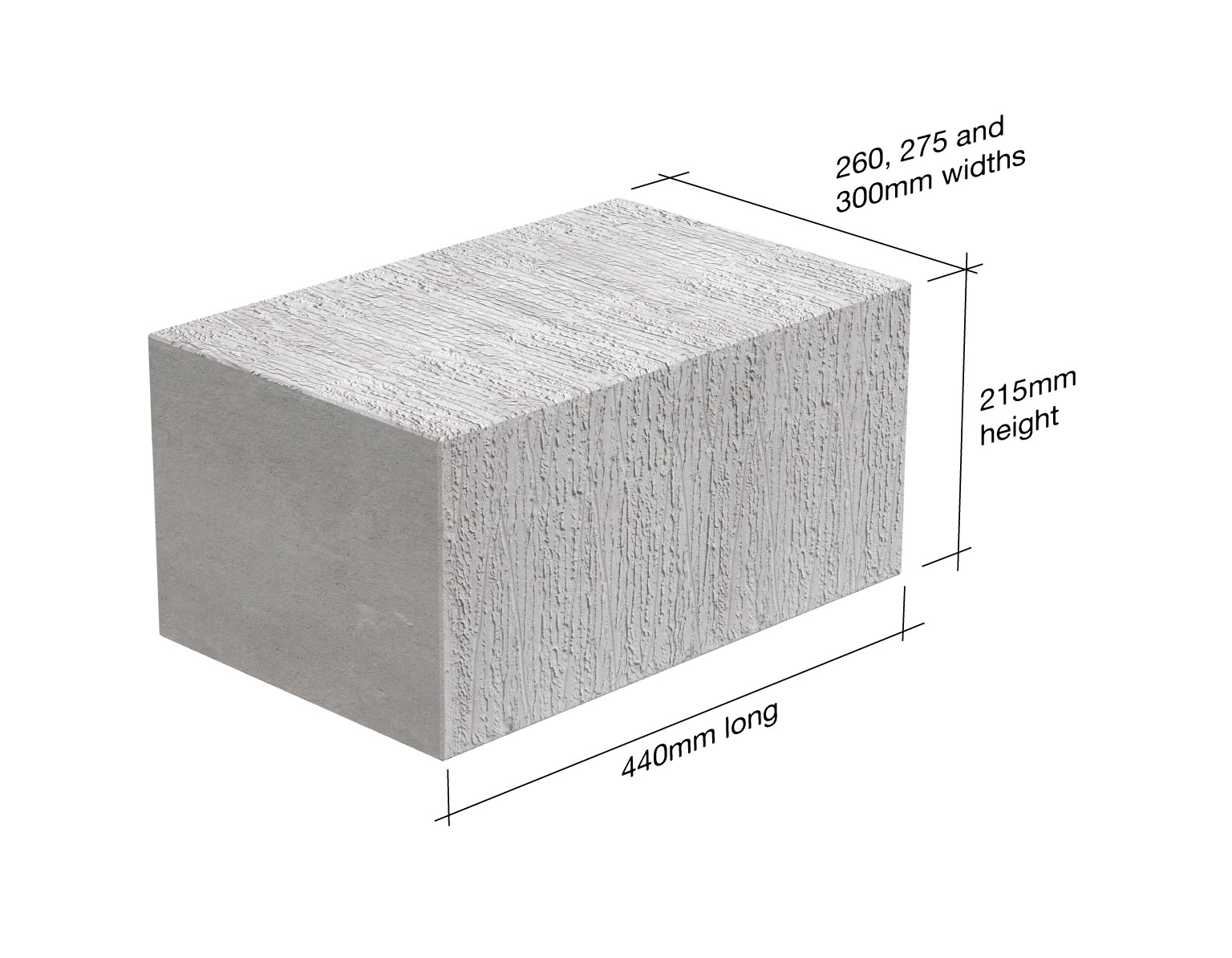 Tarmac Toplite Foundation Blocks