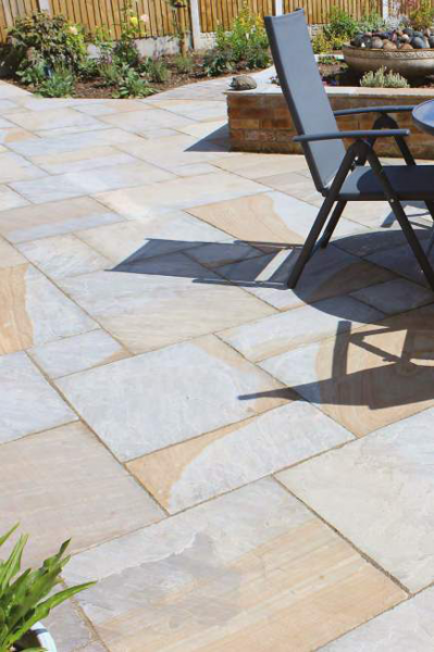 Natural Paving – Yorkshire Blend Sandstone