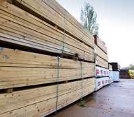 Timber available at Peppard Building Supplies, Reading