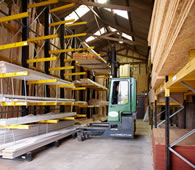 Peppard Building Supplies timber storage