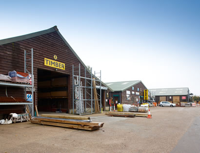 Peppard Building Supplies timber yard